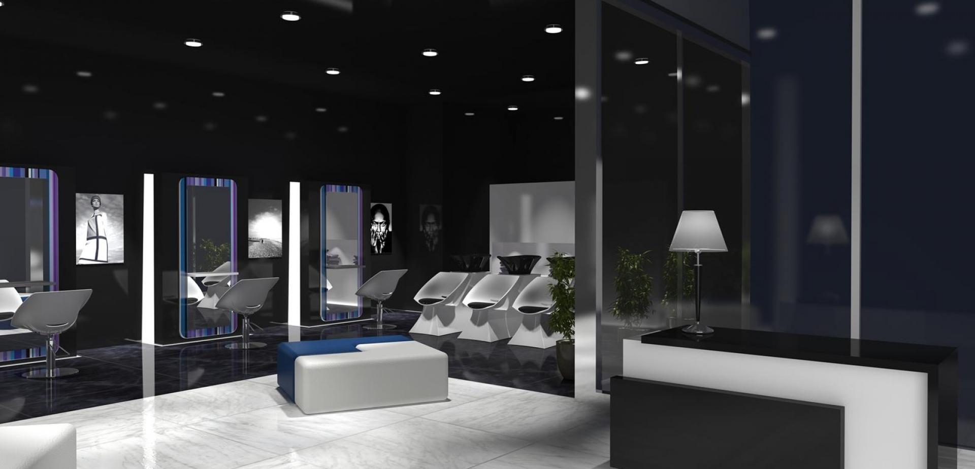 Итальянская парикмахерская мебель и оборудования под заказ