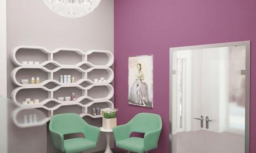 Дизайн-проект интерьера салона красоты вип-класс