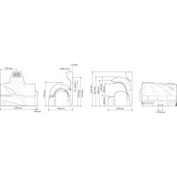 """Горизонтальный солярий """"Luxura VEGAZ 8200 BALANCE"""""""