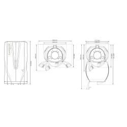 """Вертикальный солярий """"Luxura V8 48 XL INTENSIVE"""""""