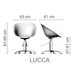"""Парикмахерское кресло """"LUCCA"""""""