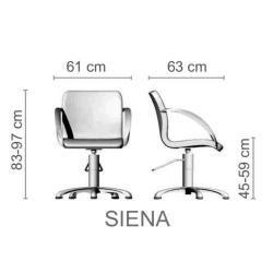 """Парикмахерское кресло """"SIENA"""""""