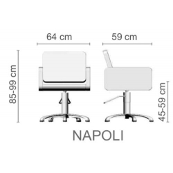 """Парикмахерское кресло """"NAPOLI"""""""