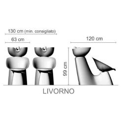 """Парикмахерская мойка """"LIVORNO"""""""