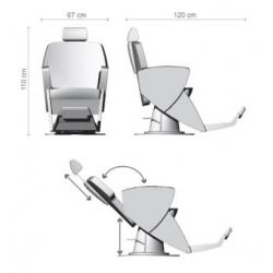 """Парикмахерское кресло """"JUPITER 507"""""""